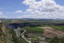 Blick auf die Umgebung von Arcos De La Frontera