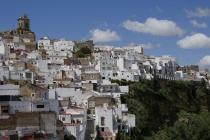 Weiße Häuser in Arcos de La Frontera