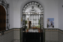 Blick in kleines Spital in Arcos De La Frontera