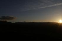 Sonnenuntergang nahe Ronda