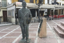 Herr auf Platz in Ronda