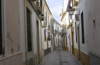 Enge Gasse im Viertel La Juderia