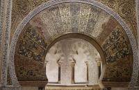 Hier war der heiligste Ort der Mezquita für die Araber