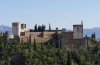 Blick auf die Alhambra