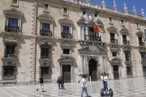 Historisches Gebäude im Zentrum von Granada