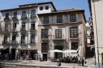 Wohnhäuser im Zentrum von Granada