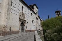 Gebäude in der Altstadt von Granada