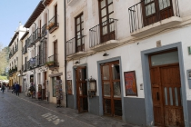 Häuser im Zentrum von Granada