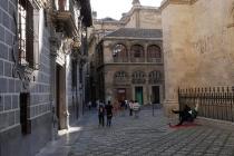 Platz hinter der Kathedrale