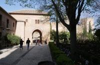 Auf dem Weg zur Alcazaba