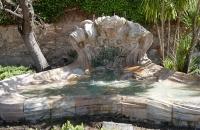 Brunnen im Park Campo de los Martires