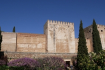 Blick auf Alcazaba