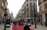 Einkaufsstraße Calle Marqués de Larios