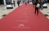 Roter Teppich in der Calle Marqués de Larios