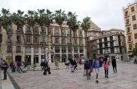 Platz im Zentrum von Malaga