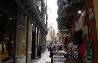 Enge Gasse in Malaga