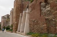 Teile der Alcazaba