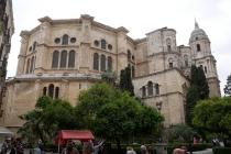 Die Kathedrale von Malaga
