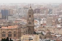 Kathedrale und Zentrum von Malaga