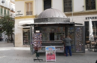 Schöner, alter Kiosk