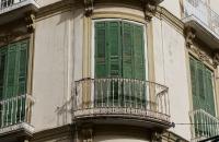 Balkon in der Art wie man sie oft in Andalusien sieht
