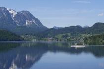 Linienboot auf dem Altausseersee