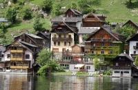 Alte Häuser von Hallstatt
