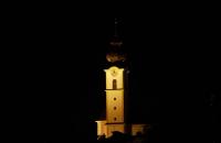 Kirche von Söll um 23:00