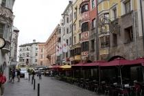 Gasse nahe dem Goldenen Dachl in Innsbruck