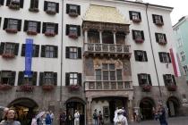 Das berühmte Goldene Dachl in Innsbruck