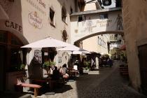 In der Altstadt von Kufstein