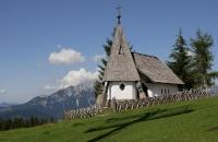 Kleine Kapelle beim Abstieg