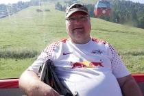 Wolfgang auf der Hexenwasser Bergbahn