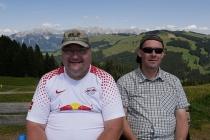 Jürgen und Wolfgang auf der Hohen Salve
