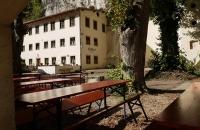 Gastgarten des Klösterl