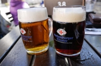 Zwei sehr edle Biere aus der Klosterbrauerei Weltenburg