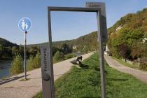 Der Klosterweg führte uns zum Kloster Weltenburg