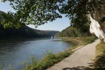 An der Donau nahe Kelheim