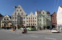 Platz in Regensburg