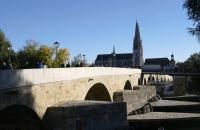 Steinerne Brücke und Dom von Regensburg