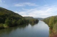 Der Donau-Main-Kanal bei Essing