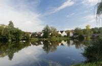 Malerische Nachmittagsstimmung in Kallmünz