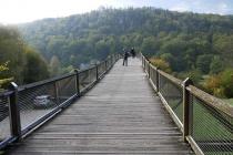 Holzbrücke in Essing