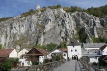 Blick auf Essing und die Burg