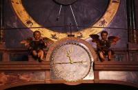 Uhr im Inneren des Straßburger Münster