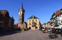 Hauptplatz von Obernai