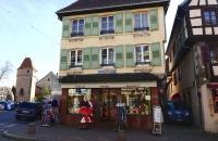 Alter Souvenirshop in Obernai
