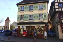 Alter Souvenirshop in Obernai