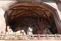 Jesus am Ölberg am Friedhof von Obernai