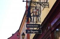 Schild eines Restaurants